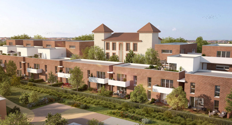 Toulouse programme immobilier neuf « Riverview » en Loi Pinel
