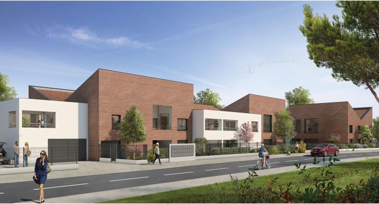 Toulouse programme immobilier neuf « Naturéa » en Loi Pinel