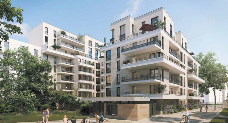 Clichy programme immobilier neuf « Square des Bateliers » en Loi Pinel