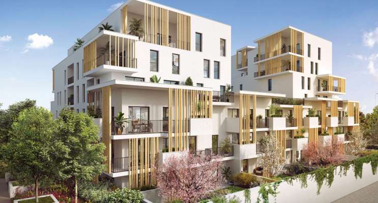 Villeurbanne programme immobilier neuf « L'Îlot Charmes » en Loi Pinel