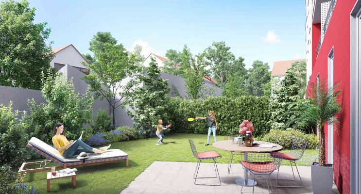 Neuilly-sur-Marne programme immobilier neuf « Côté Jardin » en Loi Pinel