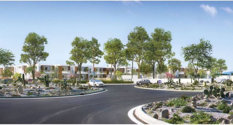 Villeneuve-de-la-Raho programme immobilier neuf « Côté Lac » en Loi Pinel