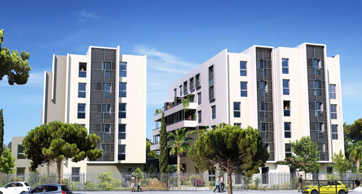 Montpellier programme immobilier neuf « Fac'Story »