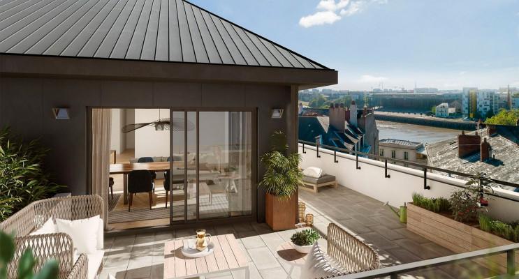 Nantes programme immobilier neuf « Atelier Cambronne » en Loi Pinel