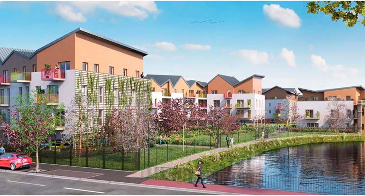 Corbeil-Essonnes programme immobilier neuf « Tempo Tranche 2 » en Loi Pinel
