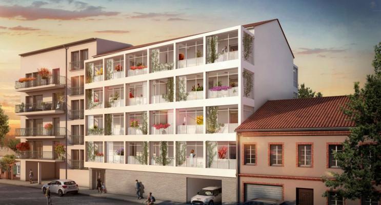 Toulouse programme immobilier neuf « Iloa » en Loi Pinel
