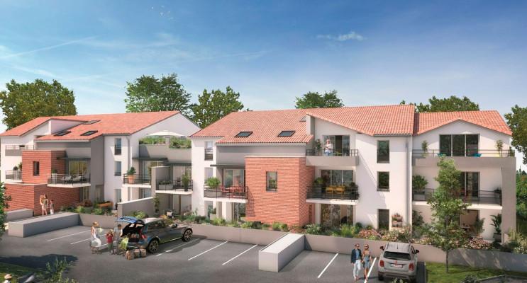 Mondonville programme immobilier neuf « Le Domaine de Candice » en Loi Pinel