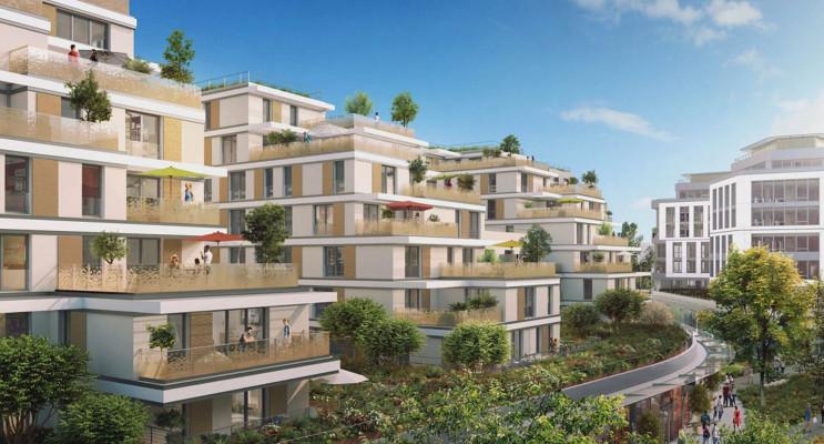 Issy-les-Moulineaux programme immobilier neuf « Issy Coeur de Ville » en Loi Pinel