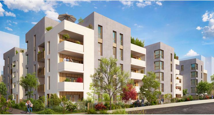 Lyon programme immobilier neuf « Millésime » en Loi Pinel