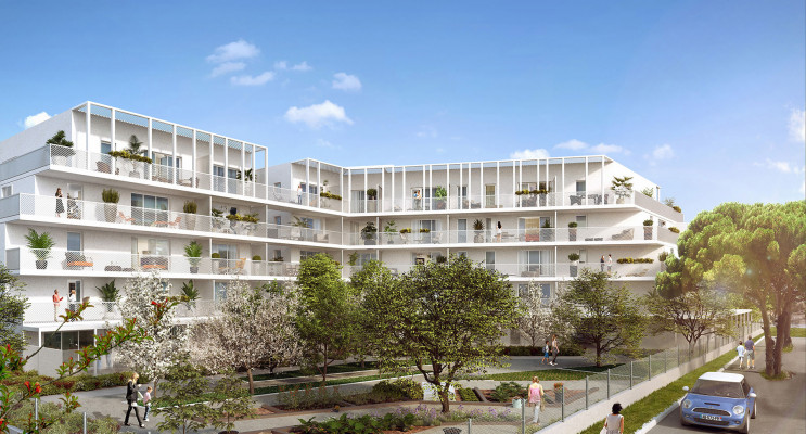 Marseille programme immobilier neuf « Calablue » en Loi Pinel