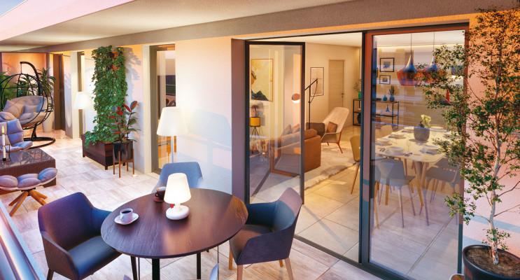 Aix-en-Provence programme immobilier neuf « Excellence Méjanes » en Loi Pinel