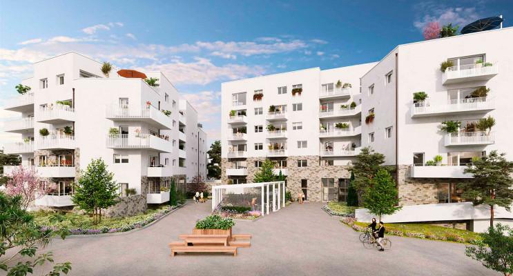 Saint-Sébastien-sur-Loire programme immobilier neuf « Les Jardins de la Jaunaie » en Loi Pinel
