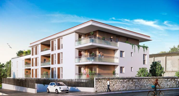 Marseille programme immobilier neuf « Élégance - Château Gombert » en Loi Pinel