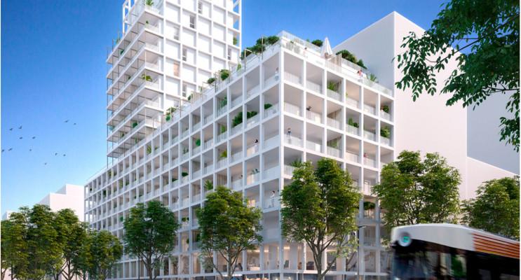 Marseille programme immobilier neuf « Euroméditerranée - Les Fabriques » en Loi Pinel