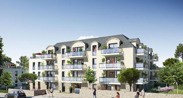 Concarneau programme immobilier neuf « La Corniche » en Loi Pinel