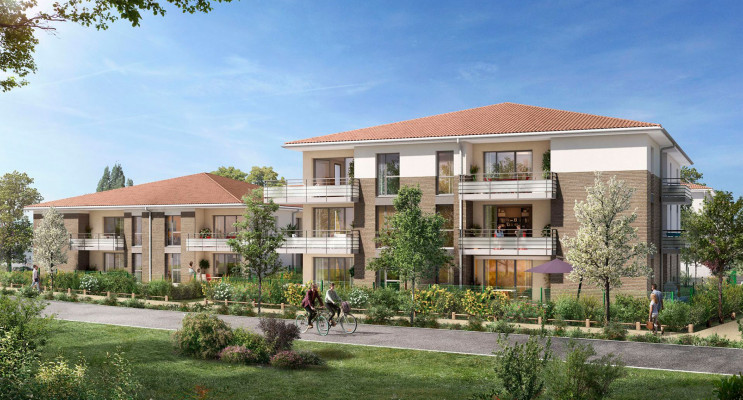 Lespinasse programme immobilier neuf « Canal Rive Gauche » en Loi Pinel
