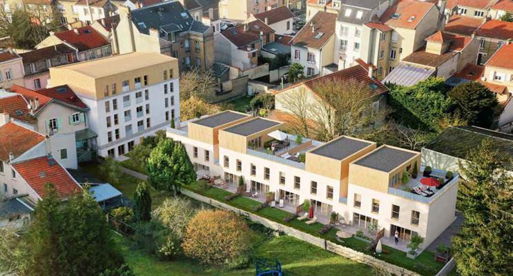 Reims programme immobilier neuf « Les Terrasses de Luton » en Loi Pinel