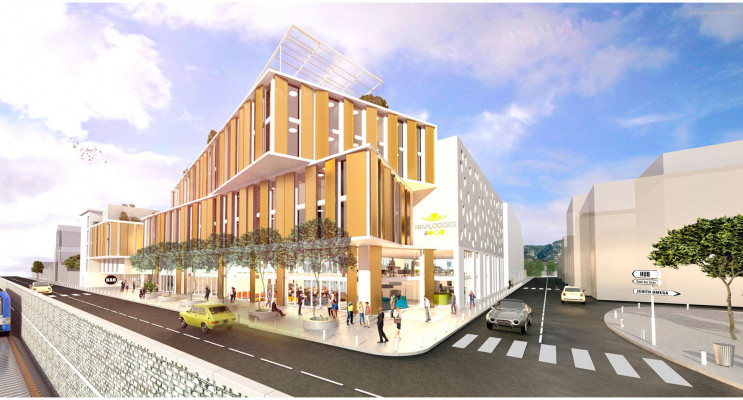 Toulon programme immobilier neuf « Toulon Montety »