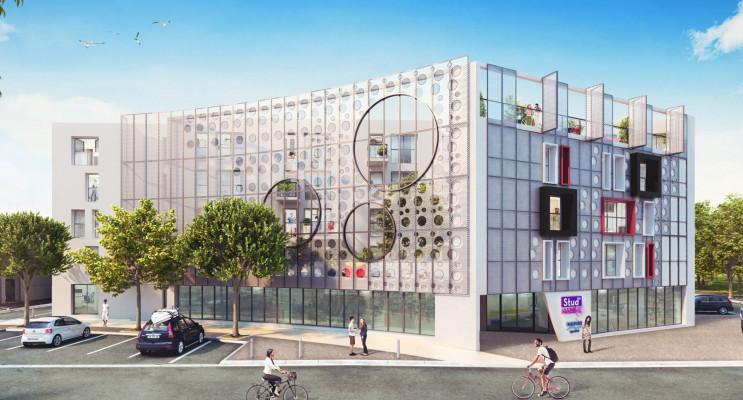 La Rochelle programme immobilier neuf « Stud'Marine »