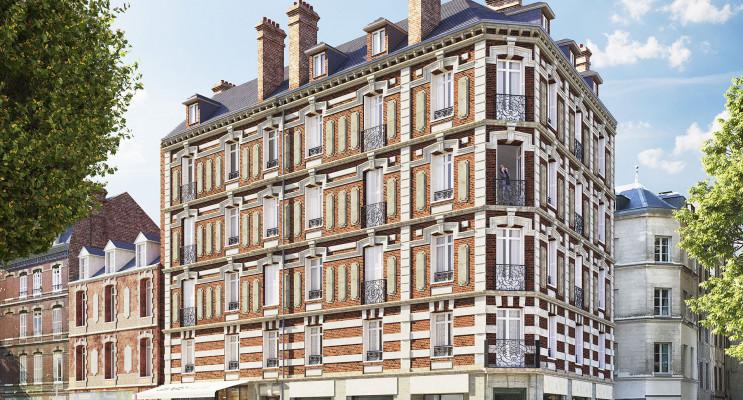 Rouen programme immobilier à rénover « Saint-Vivien » en Loi Malraux