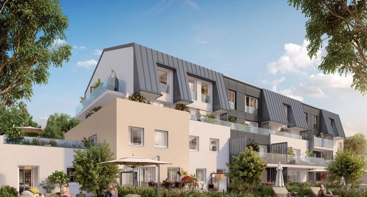 Dijon programme immobilier neuf « Latitude 87 » en Loi Pinel