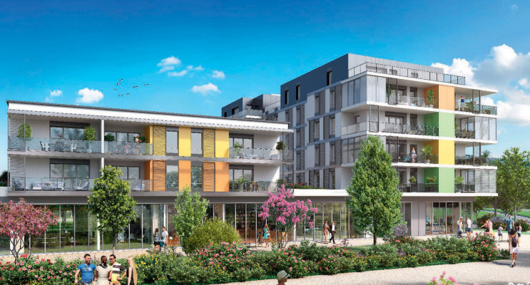 Saint-Genis-Pouilly programme immobilier neuf « Connectis 2 - Emergence » en Loi Pinel