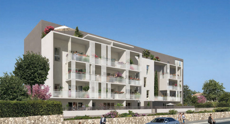 Istres programme immobilier neuf «  n°217731 » en Loi Pinel