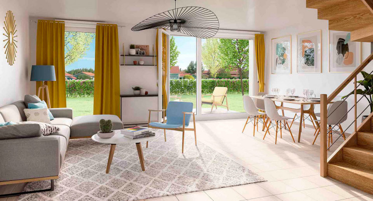 Montlhéry programme immobilier neuf « Le Parc des Archers » en Loi Pinel