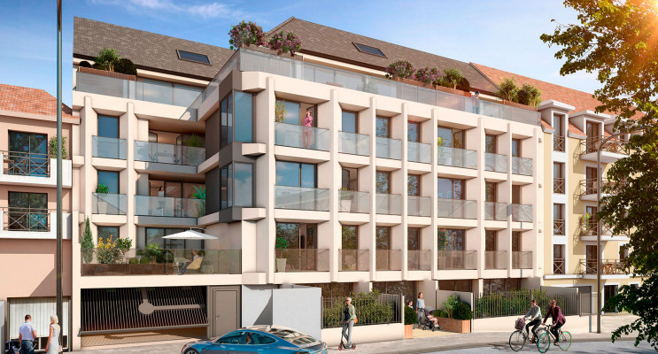 Arpajon programme immobilier neuf « Le Premium » en Loi Pinel