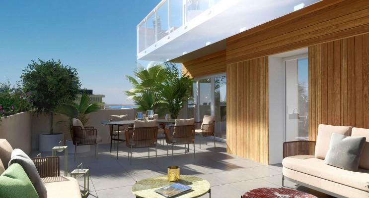 Nice programme immobilier neuf « L'Avant Scène » en Loi Pinel