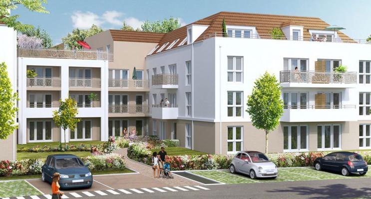 Linas programme immobilier neuf « Carré Nature » en Loi Pinel