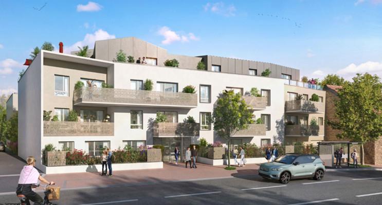 Dijon programme immobilier neuf « La Croisée des Arts » en Loi Pinel