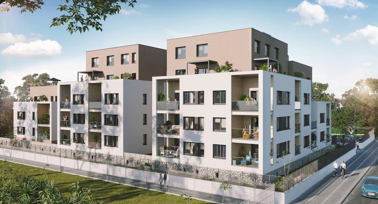 Grenoble programme immobilier neuf « L'Emeraude