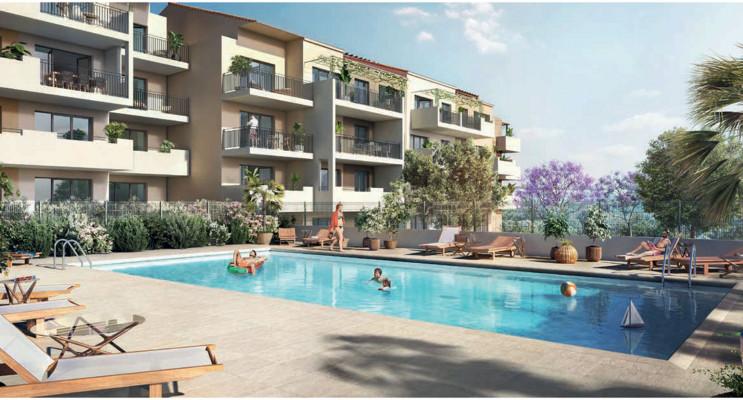 Le Muy programme immobilier neuf « Domaine Terre Rouge » en Loi Pinel