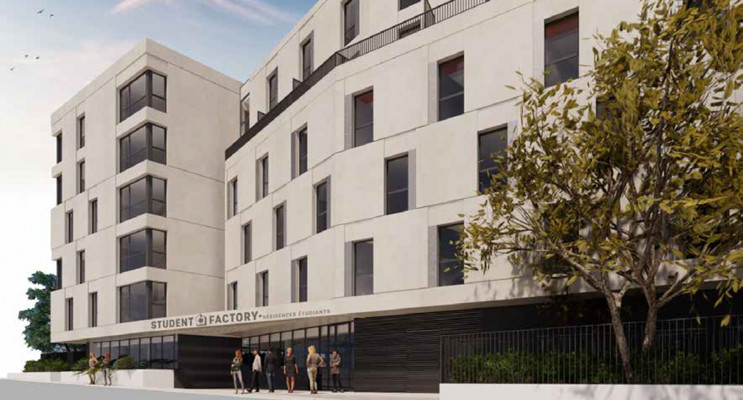 Montpellier programme immobilier neuf « Student Factory »