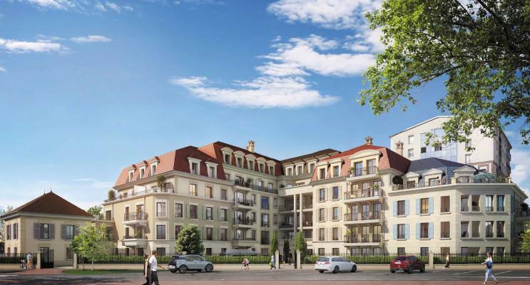 Clamart programme immobilier neuf « Les Jardins Mansart