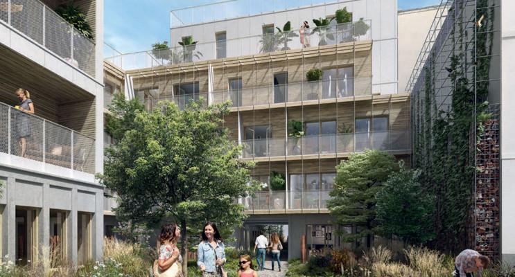 Paris programme immobilier neuf « L'Insolite » en Loi Pinel