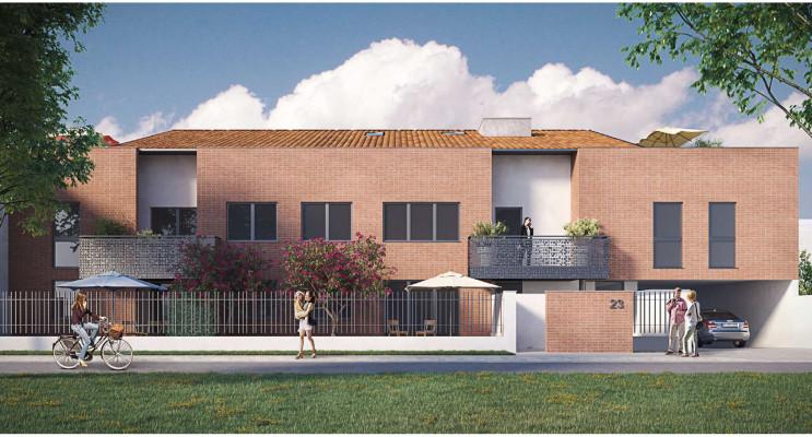 Toulouse programme immobilier neuf « Villa Celosa » en Loi Pinel