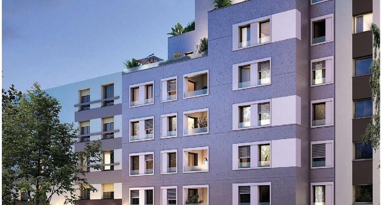 Lyon programme immobilier neuf « Passage du Jour » en Loi Pinel