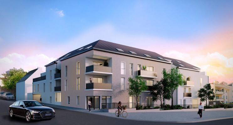 Nantes programme immobilier neuf « Le Petit Saint Laurent » en Loi Pinel