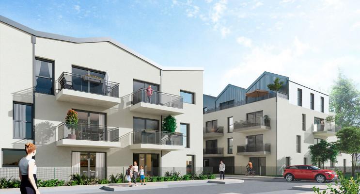 Tours programme immobilier neuf « Le Diapason Tr. 1 » en Loi Pinel