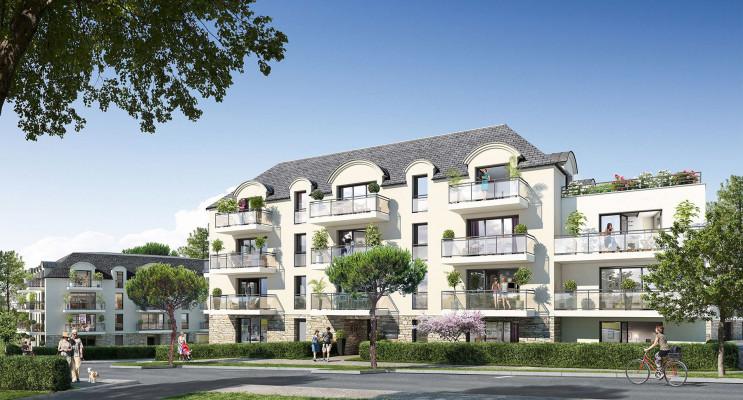 Concarneau programme immobilier neuf « La Corniche II » en Loi Pinel