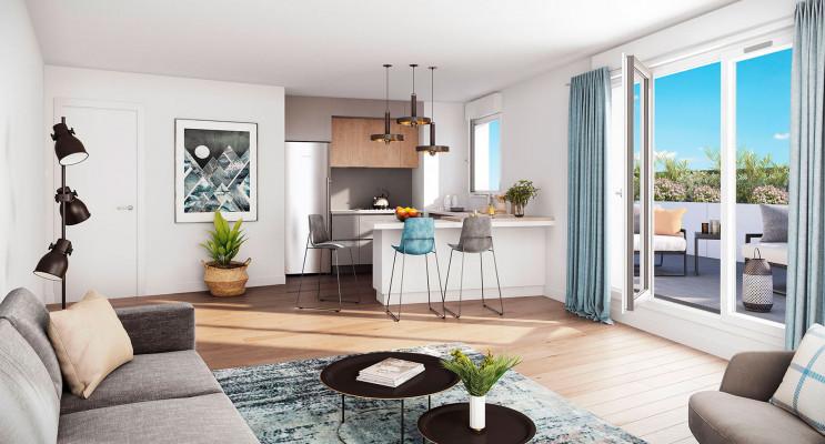Drancy programme immobilier neuf « Arboria » en Loi Pinel