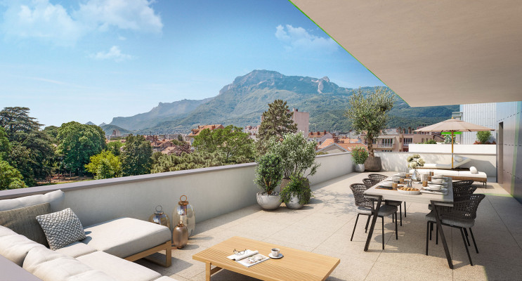 Grenoble programme immobilier neuf « La Manufacture » en Loi Pinel