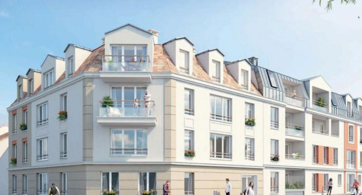 Herblay programme immobilier neuf « Vie en Ville » en Loi Pinel