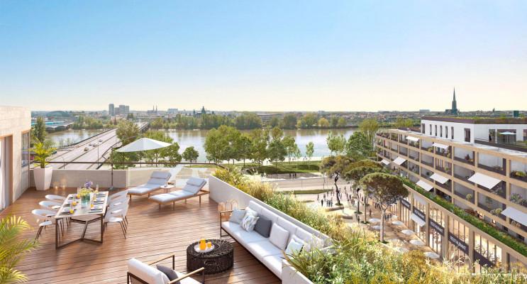 Bordeaux programme immobilier neuf « Belvédère - Bordoscena » en Loi Pinel