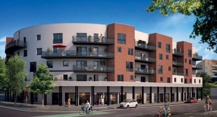 Toulouse programme immobilier neuf « Les Terrasses de Gonin » en Loi Pinel