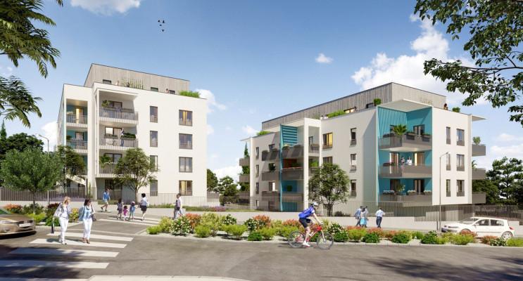 Vénissieux programme immobilier neuf « Alfa » en Loi Pinel