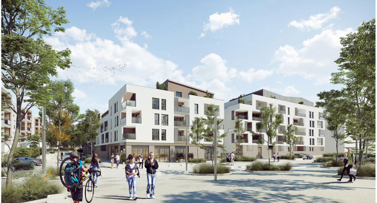 Brignais programme immobilier neuf « Sunlodge » en Loi Pinel