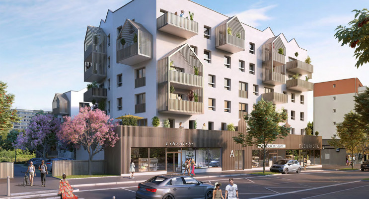 Chenôve programme immobilier neuf « Plein Coeur » en Loi Pinel